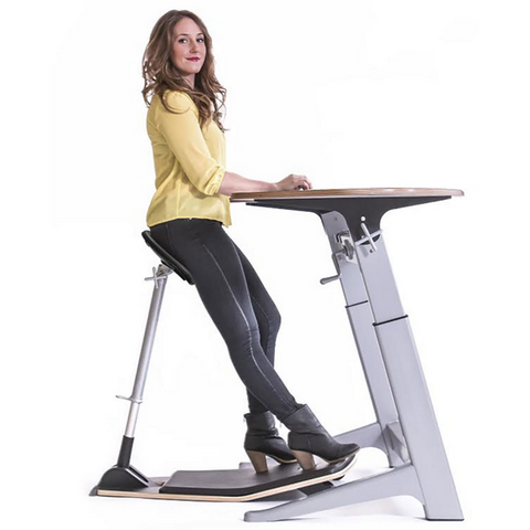 Focal Upright Sphere Bundle - Complete Standing Workstation - Standing Desk Supply