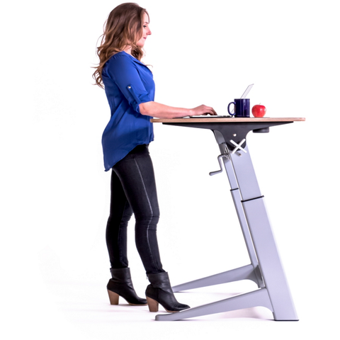 Focal Upright Locus Adjustable Desk Standup Workstation