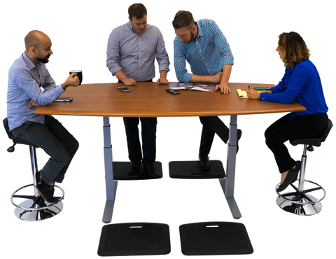 iMovr Synapse Adjustable Height Conference Table