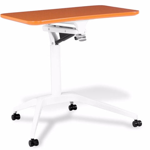 Jesper Office Unique Furniture 201 Workpad Height Adjustable Laptop Cart Mobile Desk