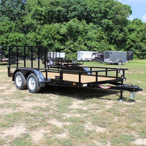 8.5X14 Tandem Axle Rail Side Utility Rear Drop Gate Radial Tires