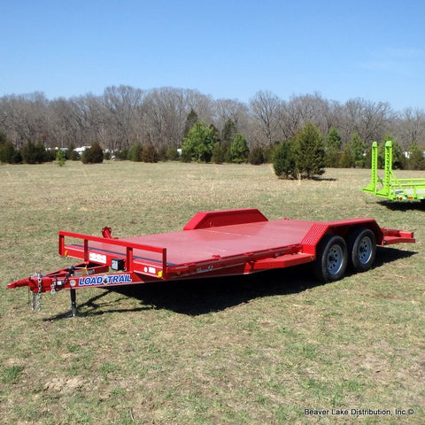 "83X18 7K  Car-Hauler Trailer With 2' Dove Tail 15"" Radial Tires & LED Lights REDUCED FROM $3750!"