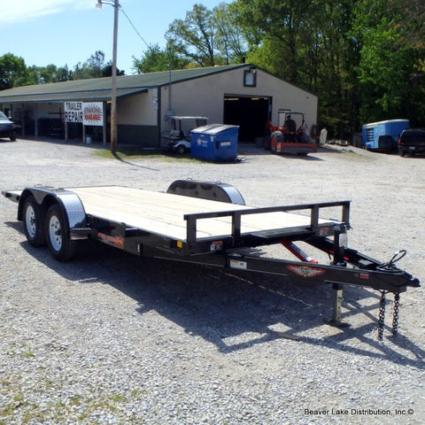 "82X18 Tandem Speed Loader Tilt with Manual Pump 15"" Radial Tires and LED Lights REDUCED FROM $3645"
