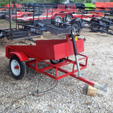 Hillbilly MFG 3X5 Single Axle Landscape Dump Trailer - Haul Supply