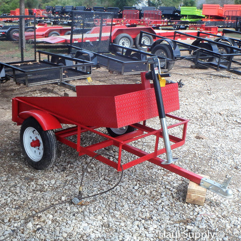 3X5 Single Axle Landscape Dump Trailer
