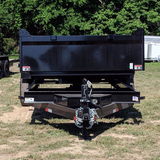 83X16 Tandem Axle Dump Trailer Barn Door Gate Spreader Slide-In Ramps Radials and LED Lights