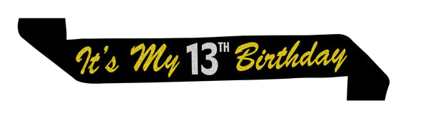 Official Teenager™ 13th Birthday Sash