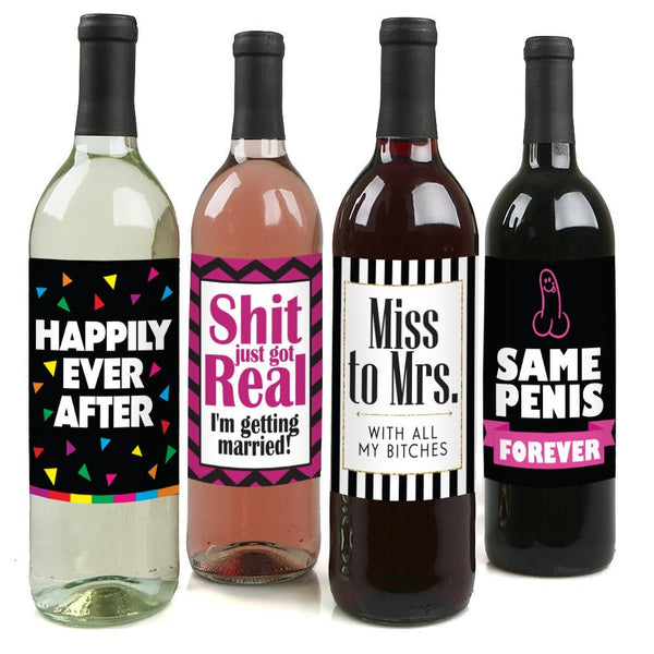 Aloha Bride™ Bachelorette Party Wine Label Pack