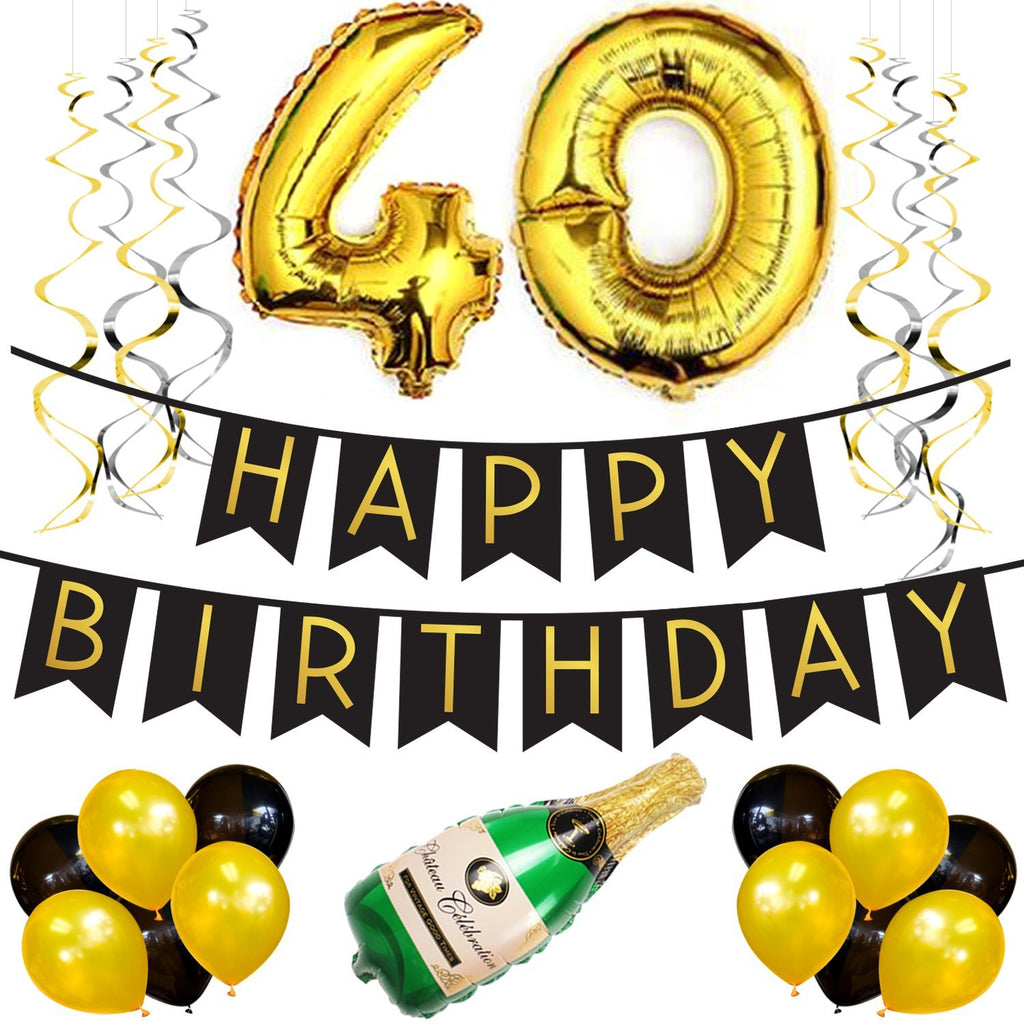 40th Birthday Party Pack Sterling James LLC