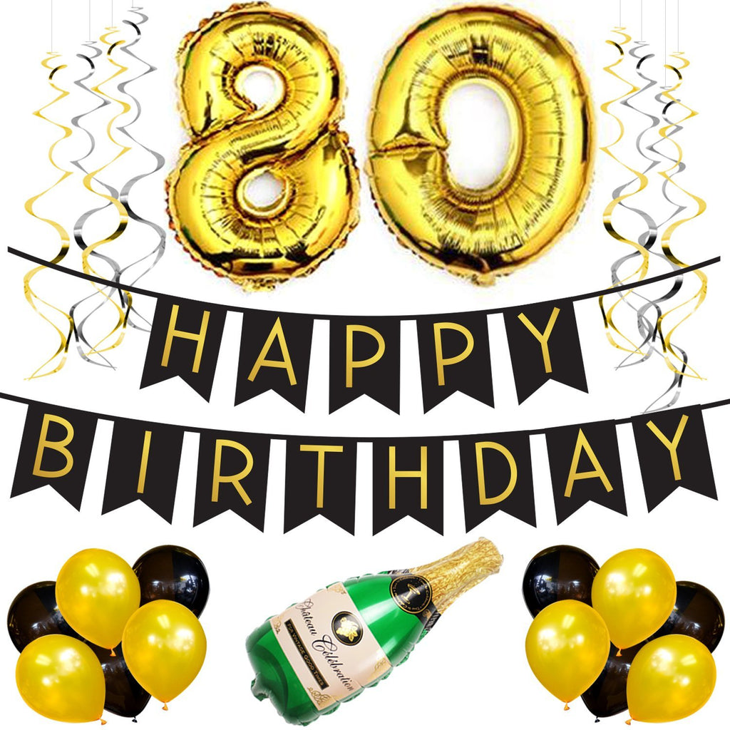 80th Birthday Party Pack