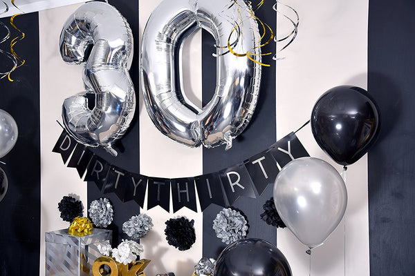 Dirty Thirty - 30th Birthday Party Pack