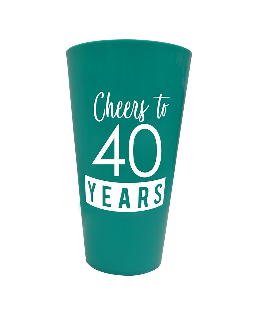 40 & Fabulous™ Plastic Party Cup