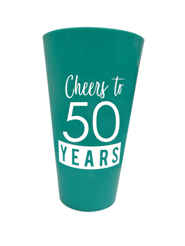 50 & Fabulous™ Plastic Party Cup