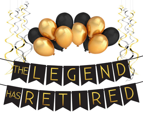 """The Legend Has Retired™"" Party Pack"
