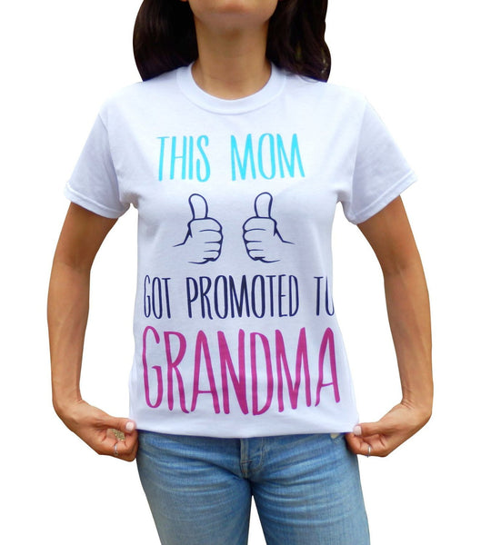 """Promoted to Grandma"" Shirt"