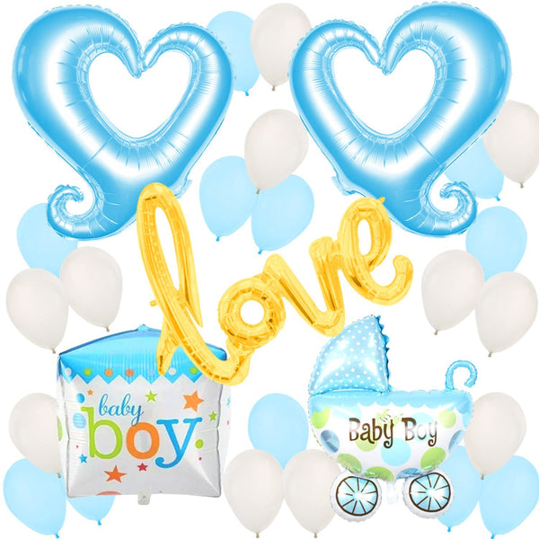 Oh Boy™ Baby Shower Balloon Pack