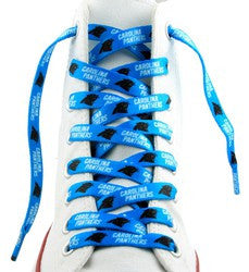 "Carolina Panthers Shoe Laces - 54"" - Fanz of Sportz"