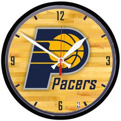 Indiana Pacers Round Wall Clock