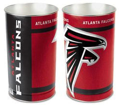 "Atlanta Falcons 15"" Waste Basket/Trash Can - Fanz of Sportz"