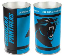 "Carolina Panthers 15"" Waste Basket/Trash Can"