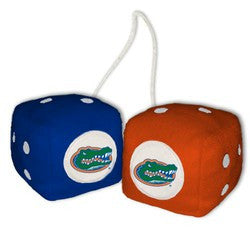 Florida Gators Fuzzy Dice