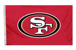 San Francisco 49ers 3'x5' All Pro Design Flag