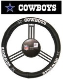 Dallas Cowboys Leather Steering Wheel Cover - Fanz of Sportz