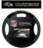 Baltimore Ravens Mesh Steering Wheel Cover - Fanz of Sportz