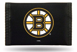 Boston Bruins Nylon Trifold Wallet