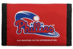 Philadelphia Phillies Nylon Trifold Wallet