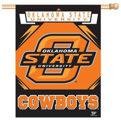 "Oklahoma State Cowboys 27""x37"" Banner"