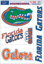 "Florida Gators 11""x17"" Ultra Decal Sheet"