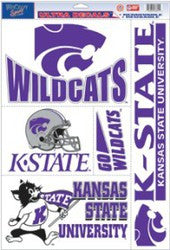 "Kansas State Wildcats 11""x17"" Ultra Decal Sheet"
