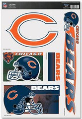 "Chicago Bears 11""x17"" Ultra Decal Sheet - Fanz of Sportz"