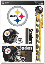 "Pittsburgh Steelers 11""x17"" Ultra Decal Sheet"