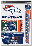 "Denver Broncos 11""x17"" Ultra Decal Sheet - Fanz of Sportz"