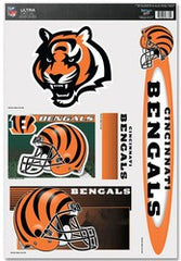 "Cincinnati Bengals 11""x17"" Ultra Decal Sheet - Fanz of Sportz"