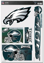 "Philadelphia Eagles 11""x17"" Ultra Decal Sheet"