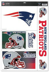 "New England Patriots 11""x17"" Ultra Decal Sheet"