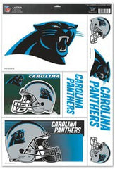 "Carolina Panthers 11""x17"" Ultra Decal Sheet - Fanz of Sportz"