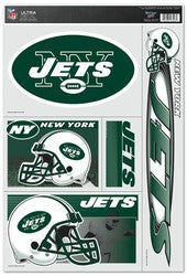 "New York Jets 11""x17"" Ultra Decal Sheet"