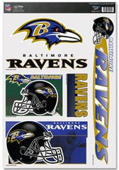 "Baltimore Ravens 11""x17"" Ultra Decal Sheet - Fanz of Sportz"