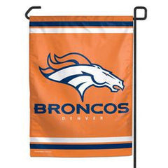 "Denver Broncos 11""x15"" Garden Flag - Fanz of Sportz"