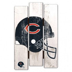 Chicago Bears Wood Fence Sign - Fanz of Sportz