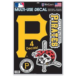 "Pittsburgh Pirates 11""x17"" Ultra Decal Sheet"
