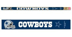 Dallas Cowboys Pencil 6 Pack - Fanz of Sportz