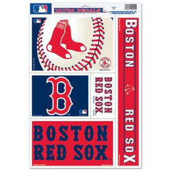 "Boston Red Sox 11""x17"" Ultra Decal Sheet"