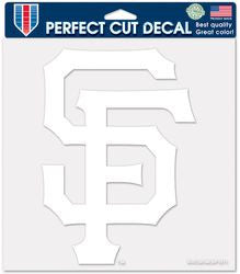 "San Francisco Giants Die-Cut Decal - 8""x8"" White"