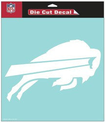 "Buffalo Bills Die-Cut Decal - 8""x8"" White - Fanz of Sportz"
