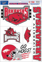 "Arkansas Razorbacks 11""x17"" Ultra Decal Sheet - Fanz of Sportz"